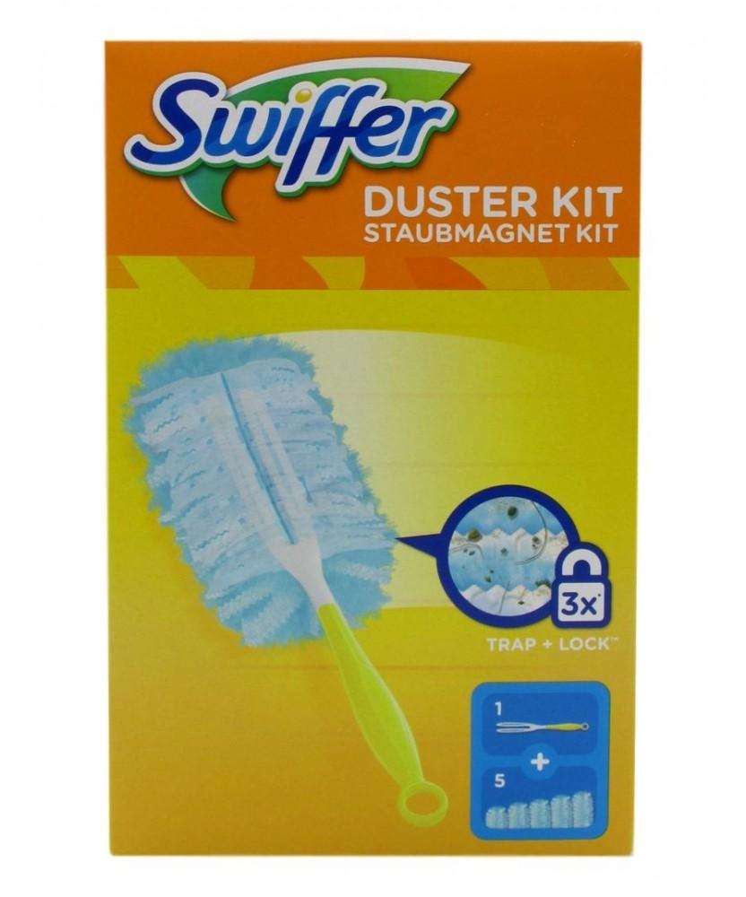 aspetto elegante codici promozionali carino e colorato Swiffer Duster Kit 1 Bastone + 5 Piumini