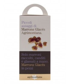 AGRIMONTANA MARRONS GLACES IN PEZZI 160 GR
