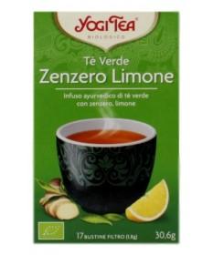 Yogi Tea Te' Verde Zenzero Limone 17 Bustine
