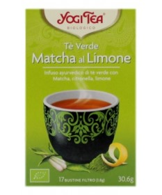 Yogi Tea Te' Verde Matcha Al Limone 17 Bustine