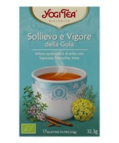 Yogi Tea Sollievo E Vigore Della Gola 17 Bustine